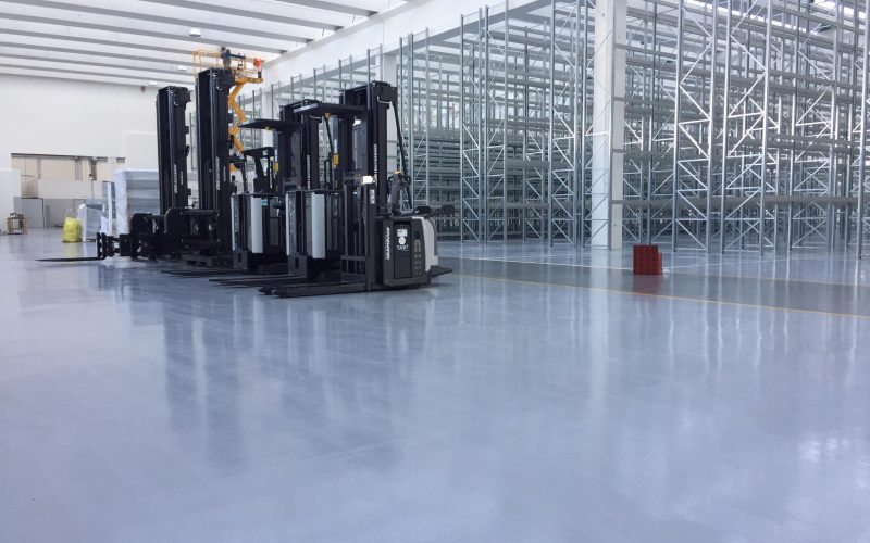 pramoniniu grindu betonavimas