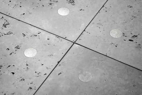 loft concrete 3d sienu plokste